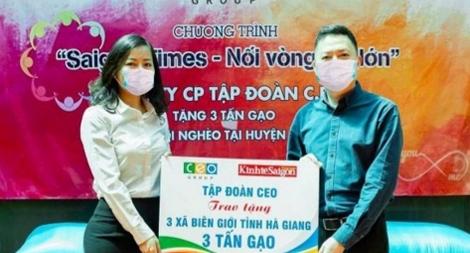 Tập đoàn CEO trao tặng 3 tấn gạo cho bà con vùng cao 3 xã tại Hà Giang