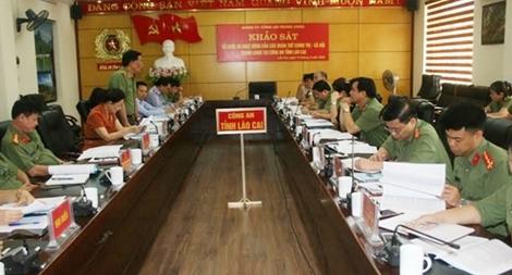 Khảo sát tổ chức và hoạt động của các đoàn thể chính trị - xã hội trong CAND