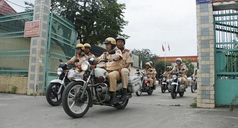 Tổng kiểm soát phương tiện giao thông trên địa bàn TP Hồ Chí Minh