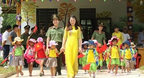 Khánh thành trường mầm non vùng cao biên giới Sao Sáng – Tà Leng