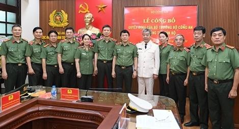 Bổ nhiệm Thiếu tướng Đặng Ngọc Tuyến giữ chức vụ Cục trưởng Cục An ninh chính trị nội bộ