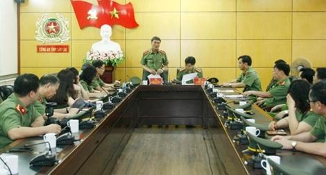 Cục Đối ngoại, Bộ Công an làm việc tại tỉnh Lào Cai