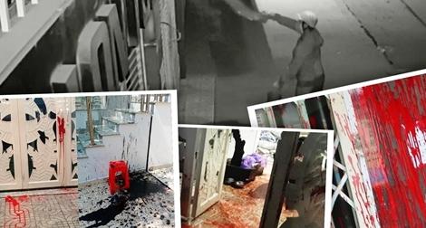 """Khốn khổ vì bị… """"khủng bố"""" bằng sơn và chất bẩn"""
