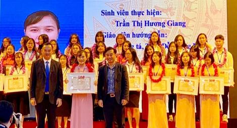 Đảng viên trẻ tiêu biểu giành nhiều giải thưởng khoa học xuất sắc