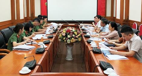 Thúc đẩy hợp tác giữa Bộ Công an và Bộ Khoa học và công nghệ