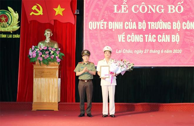 Công bố điều động, bổ nhiệm tân Giám đốc Công an tỉnh Lai Châu, Bắc Kạn