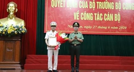 Điều động Đại tá Võ Trọng Hải giữ chức vụ Giám đốc Công an tỉnh Nghệ An