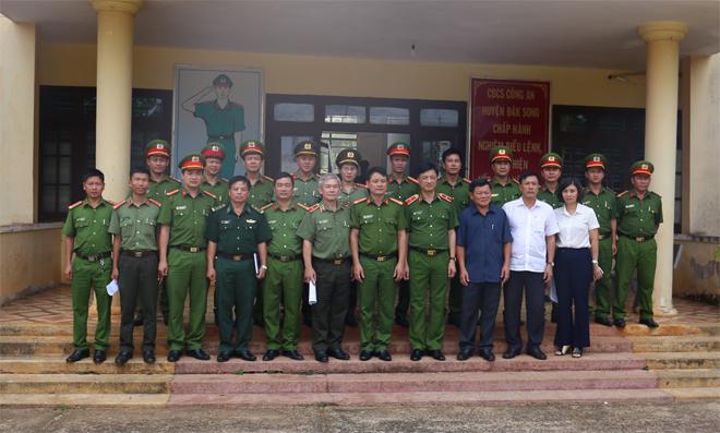 Thứ trưởng Nguyễn Duy Ngọc  làm việc tại Công an huyện biên giới Đắk Song - Ảnh minh hoạ 3