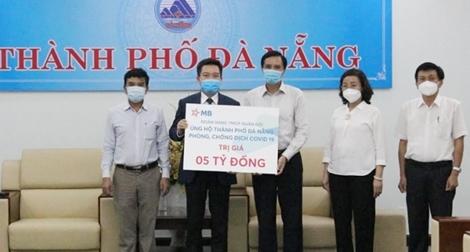 MB đồng hành cùng ngành Ngân hàng hỗ trợ Đà Nẵng chống dịch