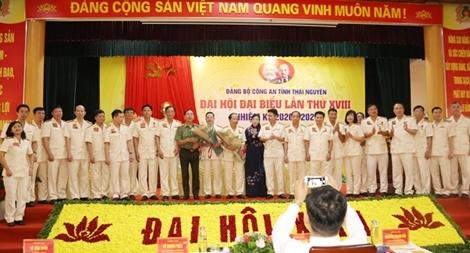Đại hội Đảng bộ Công an tỉnh Thái Nguyên nhiệm kỳ 2020-2025