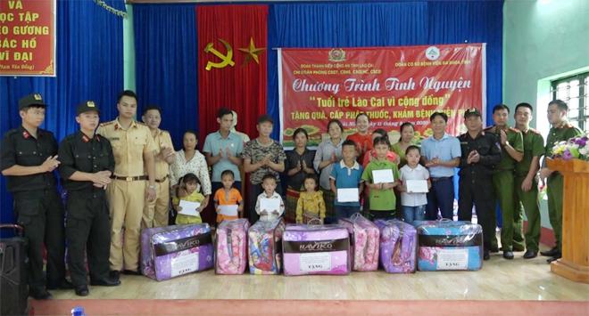 Tuổi trẻ Công an tỉnh Lào Cai tình nguyện hướng về cơ sở - Ảnh minh hoạ 2