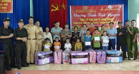 Tuổi trẻ Công an tỉnh Lào Cai tình nguyện hướng về cơ sở