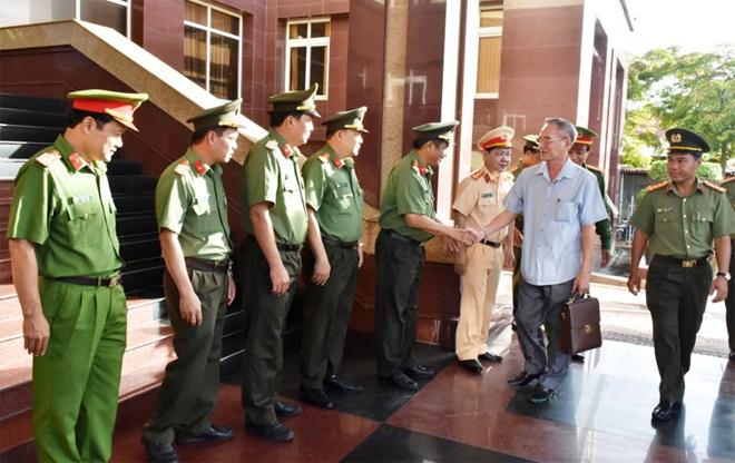 Thường trực Tỉnh ủy làm việc với Đảng ủy Công an tỉnh Bạc Liêu