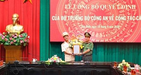 Thái Bình có tân Phó Giám đốc Công an tỉnh