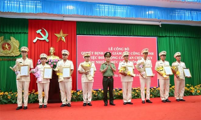 Công an Sóc Trăng hoàn thành đề án bố trí Công an chính quy đảm nhiệm các chức danh Công an xã - Ảnh minh hoạ 2
