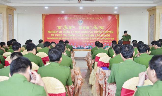 Nâng cao nghiệp vụ quản lý nhà nước  về PCCC và CNCH - Ảnh minh hoạ 2