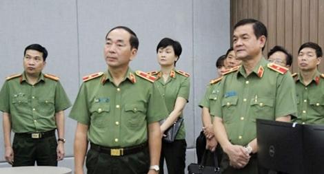 Thứ trưởng Trần Quốc Tỏ  làm việc với Công an TP Hồ Chí Minh