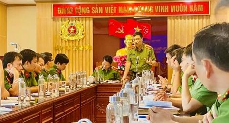 Đoàn kiểm tra của Bộ Công an kiểm tra công tác phòng chống ma tuý tại Thanh Hoá