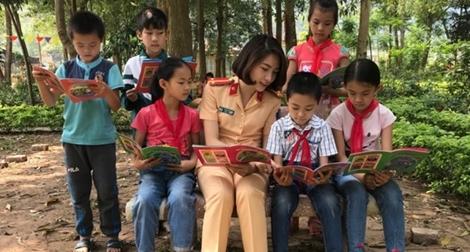 Nhiều sáng tạo của CSGT Lạng Sơn trong tuyên truyền về ATGT