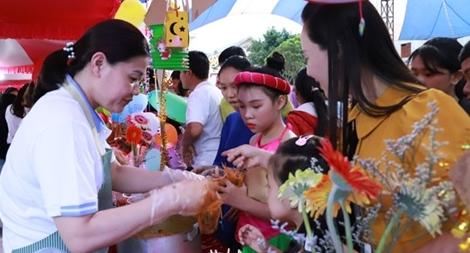 Công an tỉnh Đắk Nông tổ chức Tết Trung thu cho con em cán bộ chiến sĩ