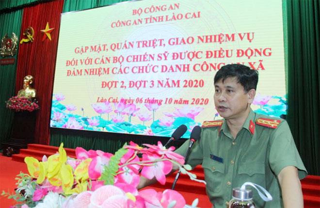 Lào Cai hoàn thành đề án đưa Công an chính quy về xã trong quý 3/2020