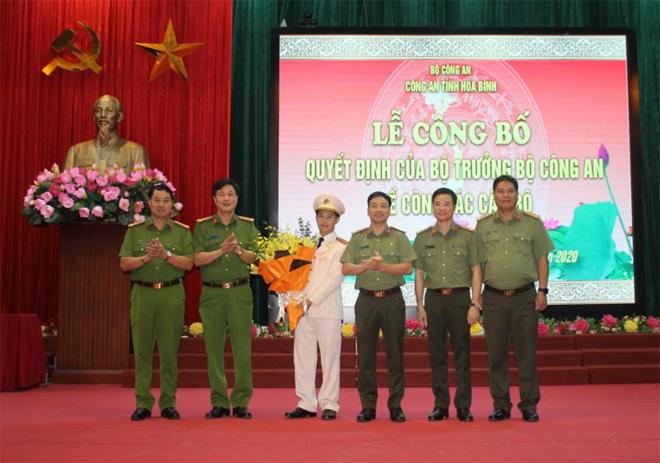 Công an Hòa Bình có thêm 1 Phó Giám đốc - Ảnh minh hoạ 3