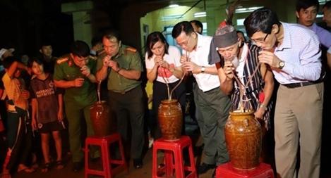 """Công an Đắk Nông thực hiện """"4 cùng"""" với nhân dân"""