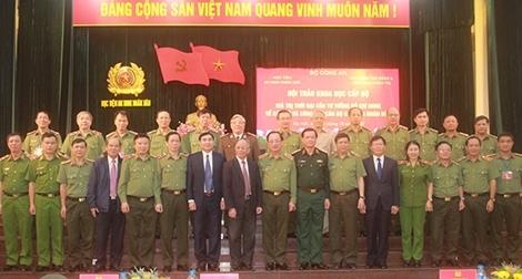 Giá trị thời đại của tư tưởng Hồ Chí Minh về cán bộ và công tác cán bộ CAND
