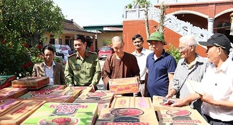 Công an Hà Nam vận động ủng hộ đồng bào miền Trung 10 tấn lương thực