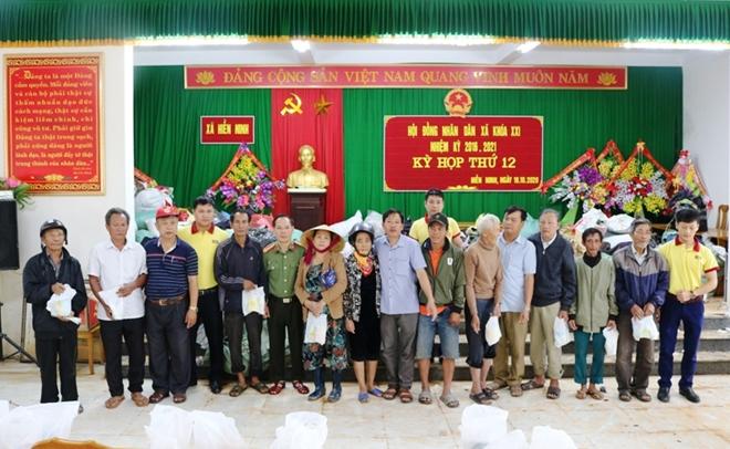 Báo CAND và Công ty NCT3 đưa yêu thương về vùng tâm lũ Quảng Bình - Ảnh minh hoạ 2
