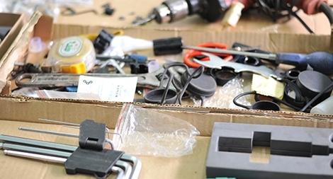 Triển khai thực hiện tốt việc thu hồi vũ khí, vật liệu nổ và công cụ hỗ trợ