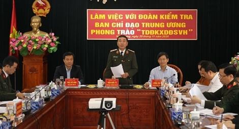 Thứ trưởng Trần Quốc Tỏ kiểm tra công tác tại Hải Dương