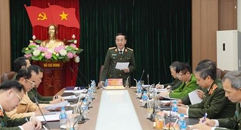 Tích cực chuẩn bị Hội nghị Công an toàn quốc lần thứ 76