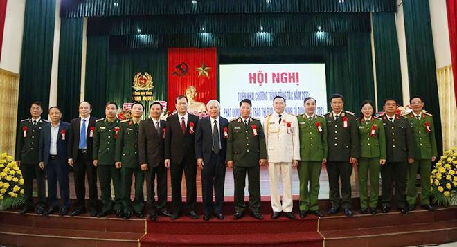 Công an tỉnh Nam Định phát động phong trào thi đua năm 2021
