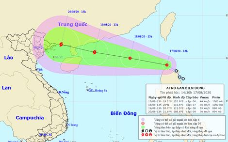 Chủ động ứng phó với diễn biến áp thấp nhiệt đới gần Biển Đông