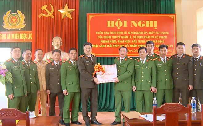 Kiểm tra công tác bảo đảm ANTT của Công an huyện Ngọc Lặc, Thanh Hóa - Ảnh minh hoạ 2