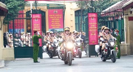 Ra quân, đảm bảo an ninh, an toàn phục vụ Đại hội Đảng toàn quốc lần thứ XIII