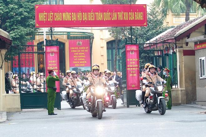 Ra quân, đảm bảo an ninh, an toàn phục vụ Đại hội Đảng toàn quốc lần thứ XIII - Ảnh minh hoạ 6