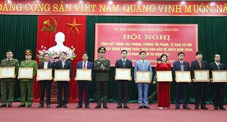 Thái Nguyên kéo giảm 10,9% số vụ phạm tội