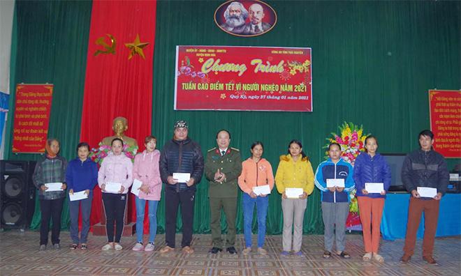 """""""Tuần cao điểm Tết vì người nghèo năm 2021"""" tại Thái Nguyên"""