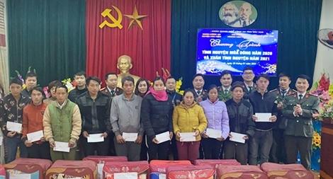 Tuổi trẻ Công an tỉnh Bắc Kạn với nhiều hoạt động tình nguyện thiết thực