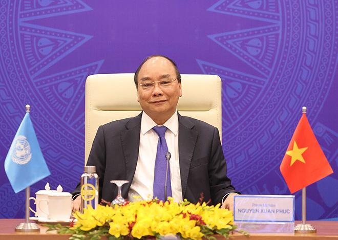 Thủ tướng tham dự phiên Thảo luận mở Cấp cao trực tuyến của Hội đồng Bảo an LHQ