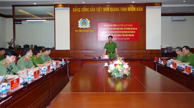 Thứ trưởng Nguyễn Duy Ngọc kiểm tra công tác cấp thẻ CCCD - Ảnh minh hoạ 3