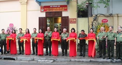 Khánh thành trụ sở và phòng trưng bày truyền thống lực lượng Công an chi viện chiến trường miền Nam