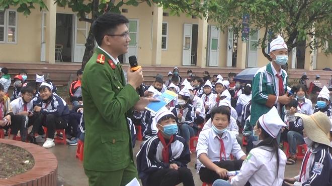 """""""Phòng chống ma túy học đường"""" cho trường THCS Đình Cao - Ảnh minh hoạ 2"""
