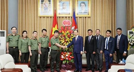Thúc đẩy hợp tác giữa Bộ Công an Việt Nam và Bộ Nội vụ Campuchia