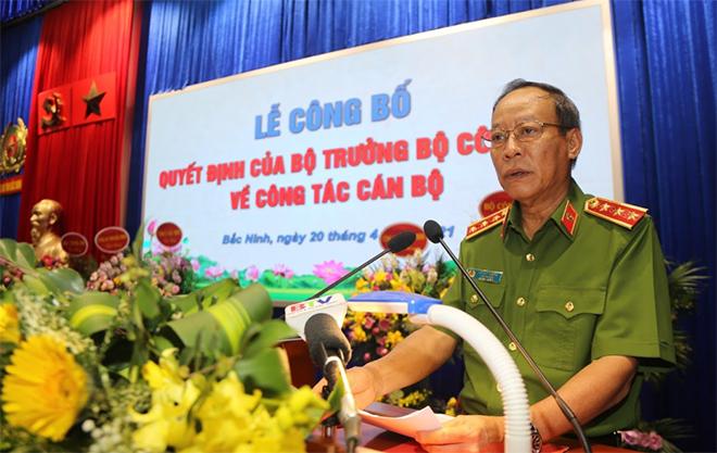 Công an tỉnh Bắc Ninh có tân Giám đốc