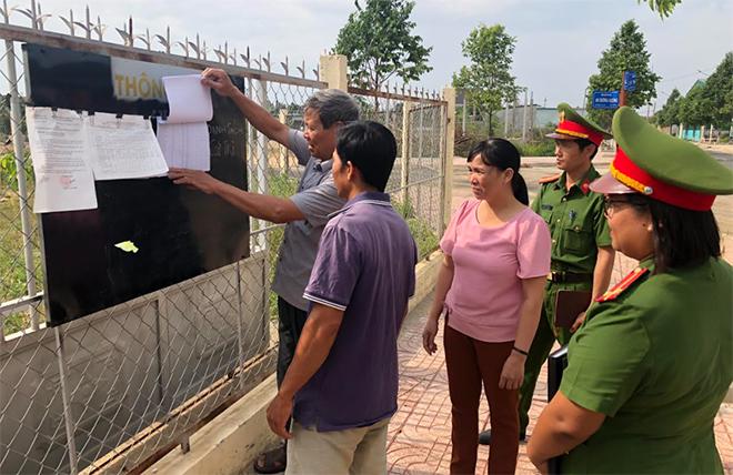 Nỗ lực bảo đảm an toàn, thành công bầu cử tại Đắk Nông