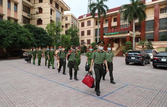 Công an Bắc Giang tăng cường CBCS cho tuyến đầu phòng chống dịch - Ảnh minh hoạ 2