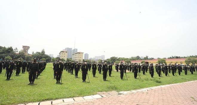 Tăng cường 220 CSCĐ giúp Bắc Giang chống dịch